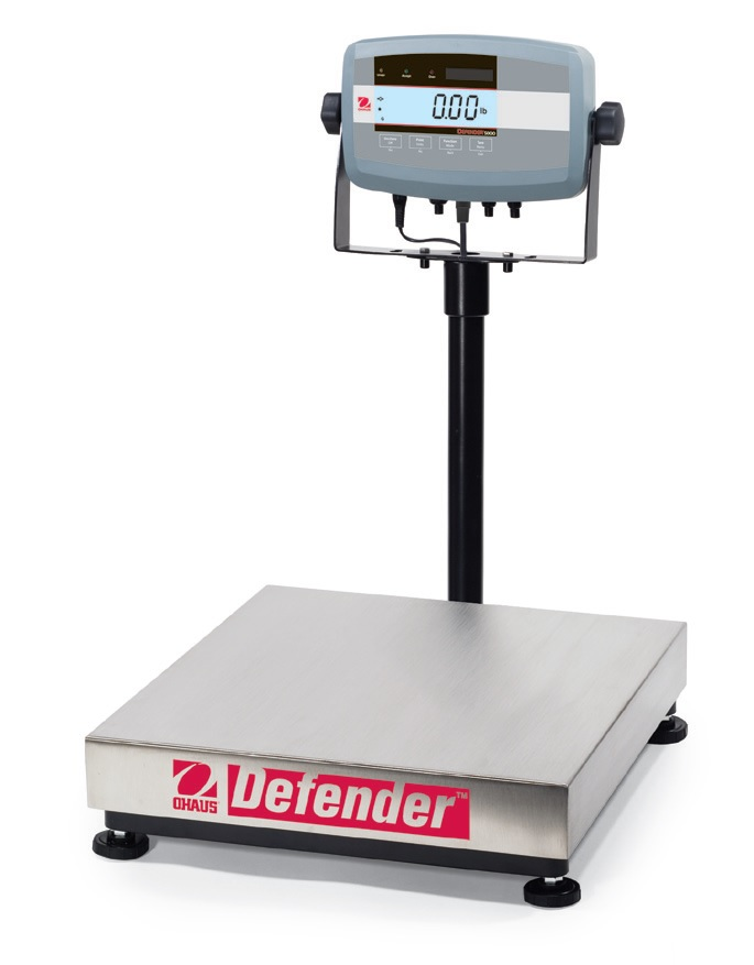 Ohaus Defender 5000 Bench Scale Brady Systems