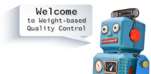 Weight based quality control